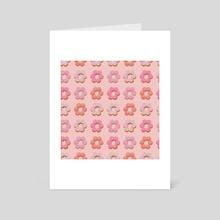 Donut - Art Card by Kimi Alejos
