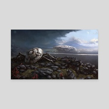 Disintegration - Canvas by Thomas Wievegg