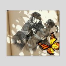 Beau & Yasha - Acrylic by Hannah Jane