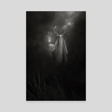 Last Oracle - Canvas by Mario Spagolla