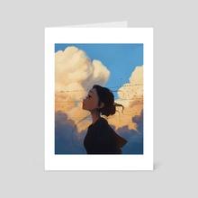 Floof Clouds - Art Card by Sam Yang