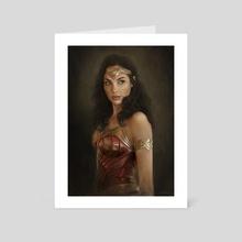 WONDER WOMAN - Art Card by Nico Di Mattia