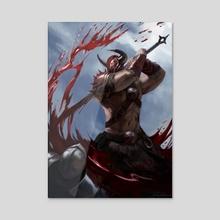 Bloodreaver - Acrylic by Bram Willemot