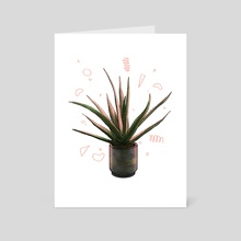 Aloe - Art Card by Jess Suttner