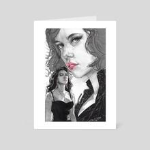 Black Widow - Art Card by james martin