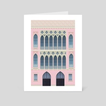 Venice - Art Card by Anna Go