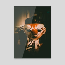 Halloween Horrors - Acrylic by Alex Tonetti