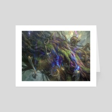 Force of Vigor_mtg - Art Card by Randy Vargas