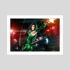 Viper Strikes Back - Art Print by Pat Loika