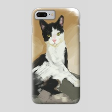 Shelter Cat #5 - Phone Case by Devon Rubin