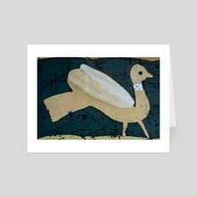 Pigeon - Art Card by Sergey Kozienko