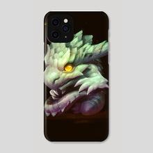 Dragon Child - Phone Case by Alexey Grishin