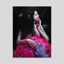 Lunacy - Canvas by Tanya Shatseva