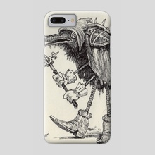Raven - Phone Case by Charles Lister