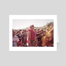 Festival attire  - Art Card by Ella Weisskamp