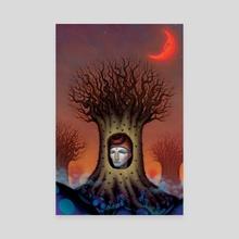 Nocturne - Canvas by Brad Weinman