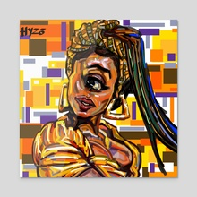 Chantaille - Acrylic by HYZO