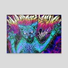 MMMRRREEEOOOWWW - Acrylic by Bolzak