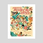 Designing Physical Games - Art Print by Kris Mukai