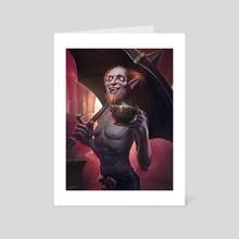 Theotar - Art Card by Jessica Aumaitre