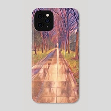 An Endless Stroll - Phone Case by Iochim Groves