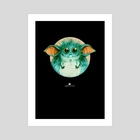thing - Art Print by Matthias Derenbach