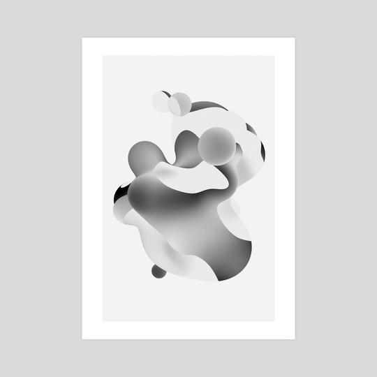 Gradient Noise 4 by Matt Gravish