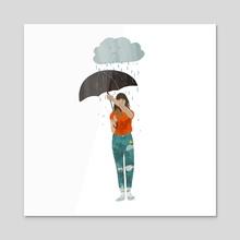 umbrella - Acrylic by Lara Paulussen