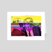Trump/ Putin - Art Card by Matt Rota