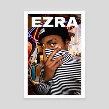 ezra - Canvas by Payton Slay