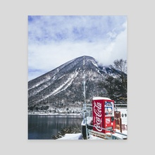nikko under the snow - Canvas by Kimie Lee