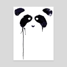 Panda - Canvas by Tobias Fonseca
