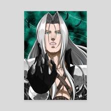Sephiroth - Canvas by KinzokuMatto