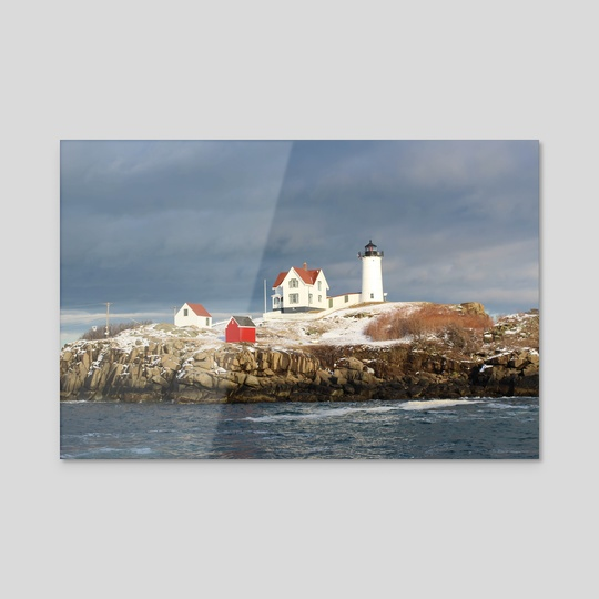Nubble Lighthouse by Paul Whipps
