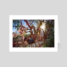 AX9YTJAE - Art Card by Melissa Cheri