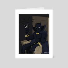 Black Panther - Art Card by Matthew Johnson