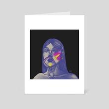 Cyber - Art Card by Lucy Szundi
