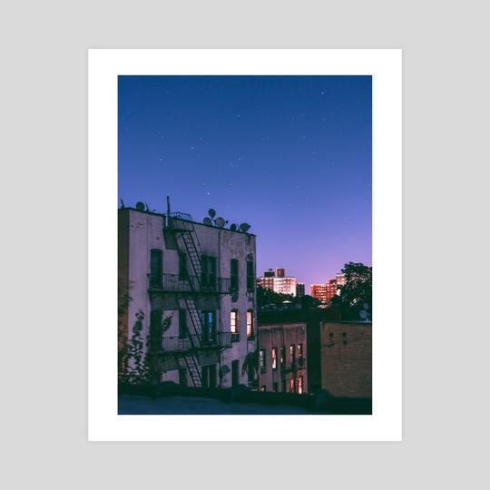 Stars over Brooklyn by Emma Bjornsen