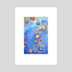 Jellyfish Party - Art Print by Skylaar Amann