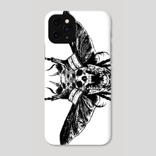 Death head - Phone Case by Rotten Dirty