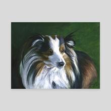 Gidget - Canvas by Margot Bloom