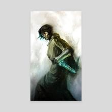 Clariel - Canvas by Sebastian Ciaffaglione