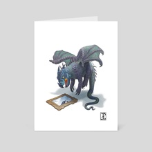 ON GUARD! - Art Card by Lynton Levengood