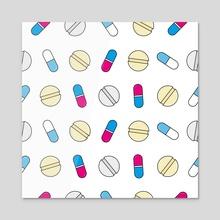 Pills - Acrylic by MissPerfectKaos
