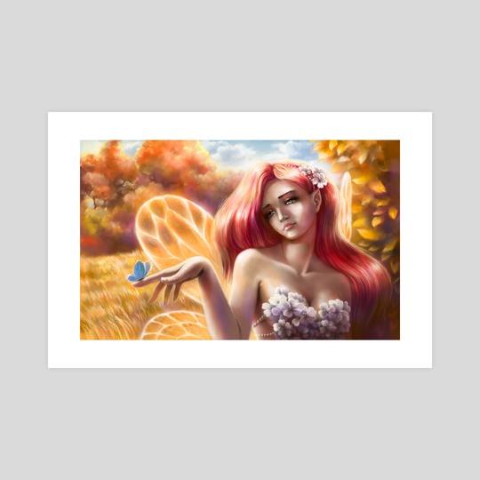 Last Butterfly Perfect World Fanart by Aurora Borealis