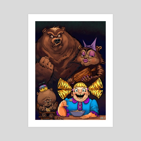 Goldilocks is at it Again! by Mike Canas