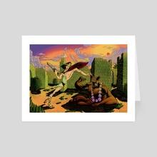 Minotaur - Art Card by Anton Bugai