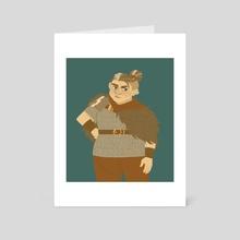 Tova - Art Card by cozygnomes