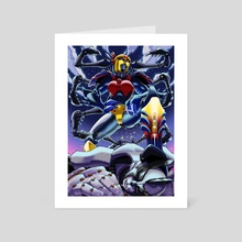 TM2 Blackarachnia  - Art Card by Sora