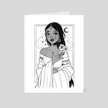 Symmetra - Art Card by Anna Rosenkrans Birkedal